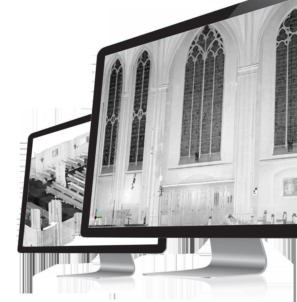 3D Scan Kirche