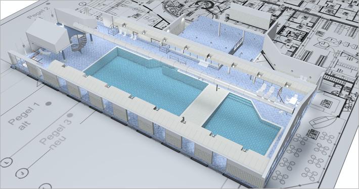 Visualisierung Hallenbad