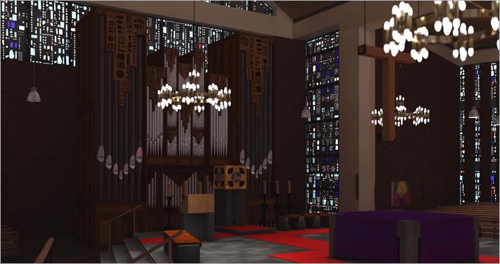 Visualisierung Kirche