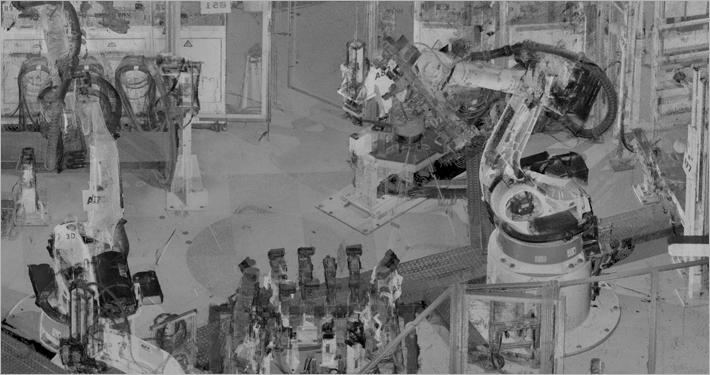 Roboterzelle 3D Scan