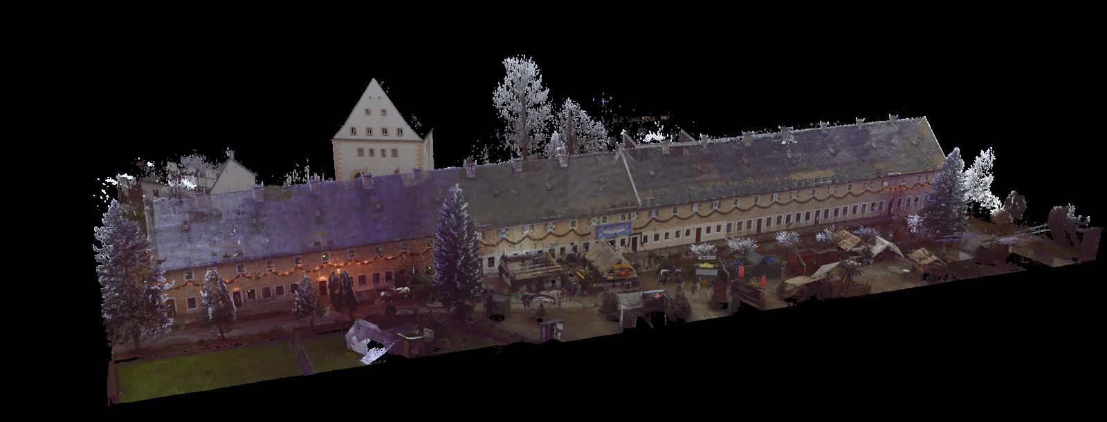 Farbscan alte Kaserne