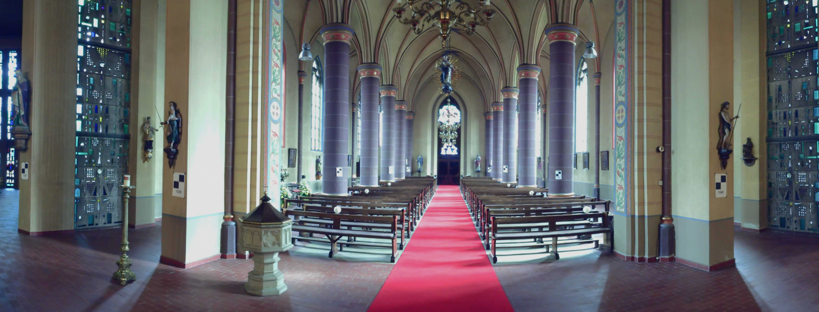 Farbscan Kirche