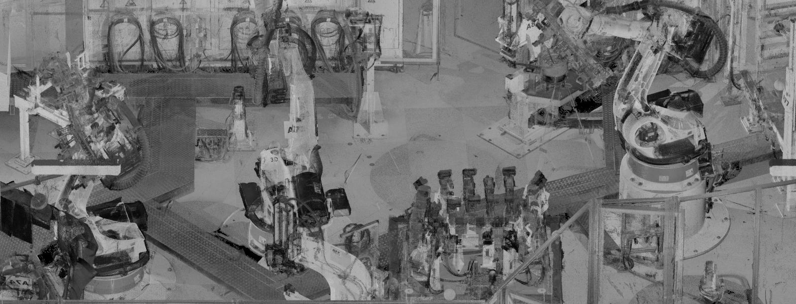 Laserscan Roboterzelle